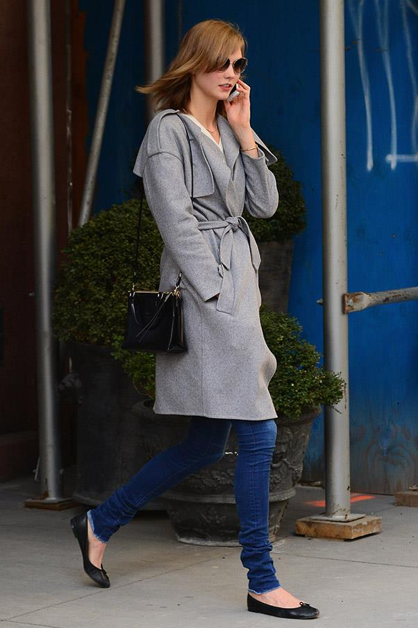 <strong>Ballet flats</strong> <br>Comfortable and stylish, the classic ballet flat will see you through every season. <br><em>Karlie Kloss</em>