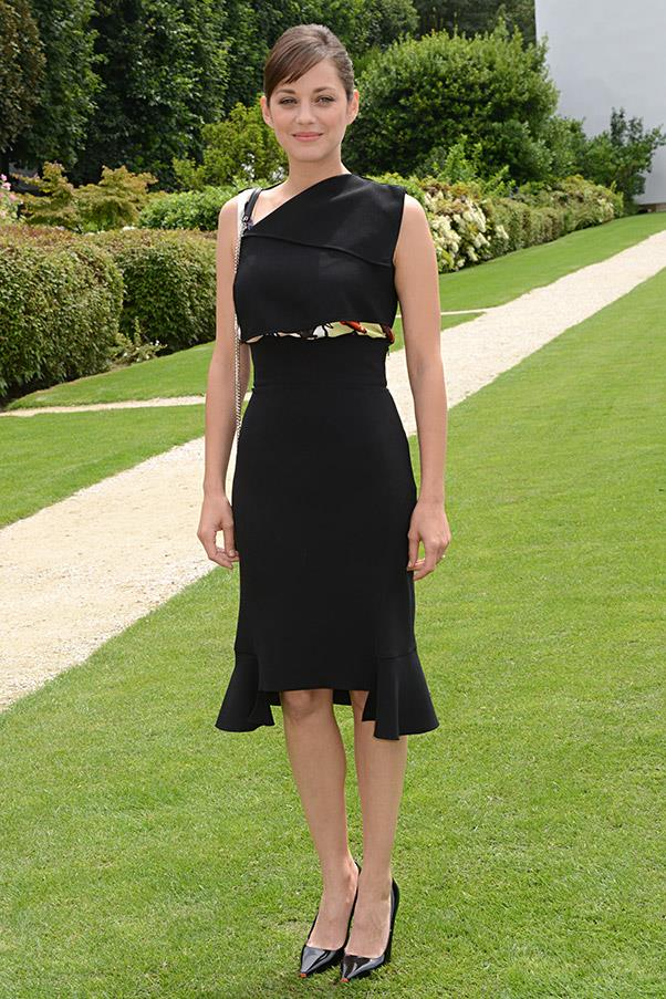 <strong>An LBD</strong> <br>Once you've found the perfect LBD, you'll never need to agonise over what to wear again. Go for a mid-length cut which translates for both cocktail and black-tie occasions for maximum wearability. <br><em>Marion Cotillard</em>