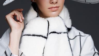 Audrey Hepburn's granddaughter makes her modelling debut