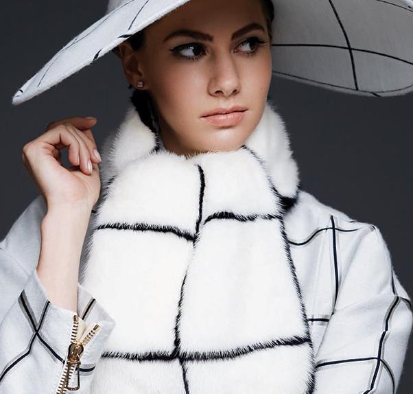Emmer Ferrer makes her modelling debut