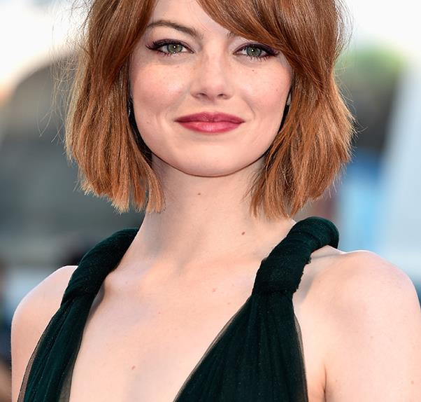 Emma Stone's best haircut yet