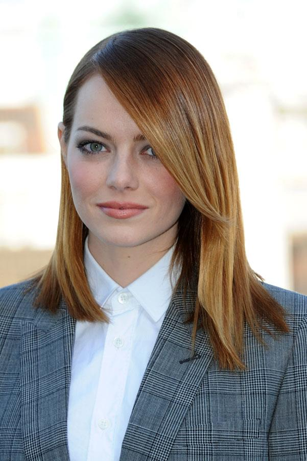Sleek and red again while promoting <em>The Amazing Spider-Man 2</em>.