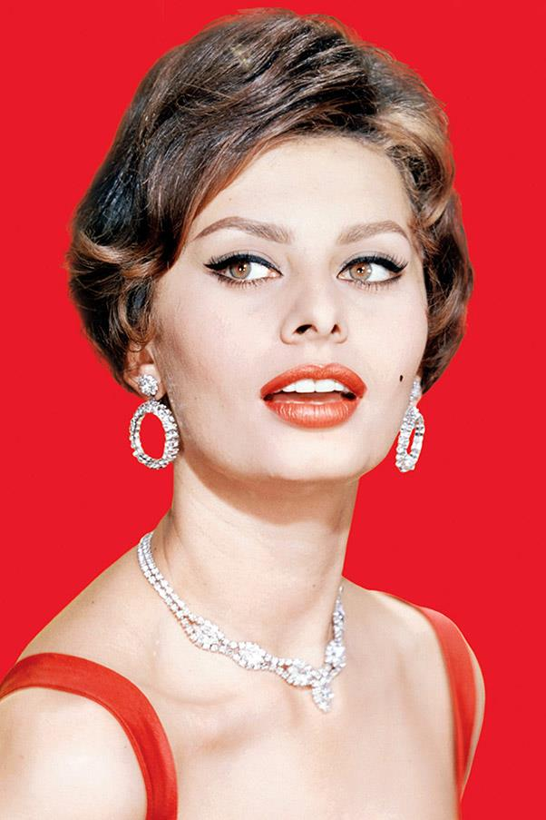 <strong>Sophia Loren</strong> <br>The sensual screen siren drew attention to her feline features in the '50s with full, softly arched brows.