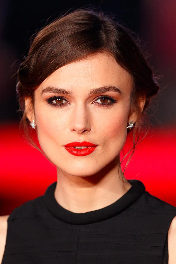 <strong>Keira Knightley</strong> <br>The British actress plays up her deep-set eyes with full, bushy brows.