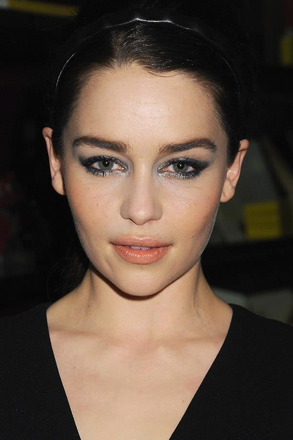 <strong>Emilia Clarke</strong> <br>The Game of Thrones star's full, untamed brows make a strong statement.