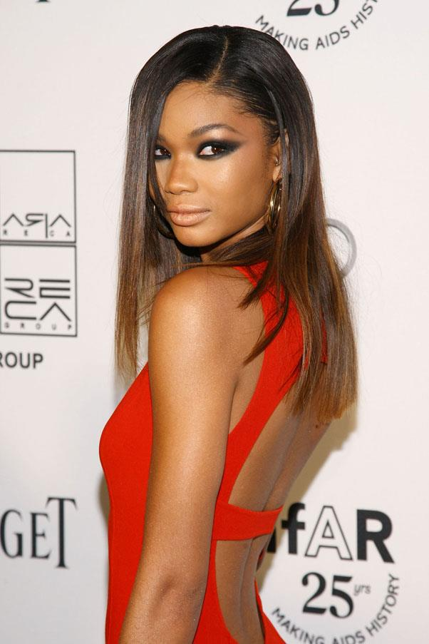 <strong>Chanel Iman</strong> <br>Born Chanel Iman Robinson, the American model dropped her last name in favour of her middle name.