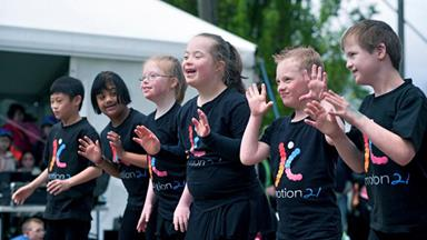 Dancers with Down syndrome find their wings
