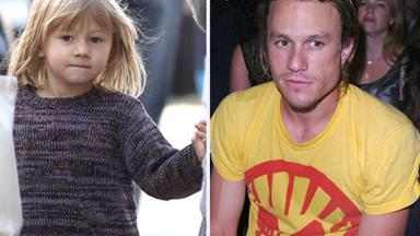 Celebrity dad and daughter lookalikes