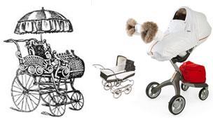 The evolution of the pram