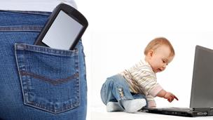 Smart phone apps for new mums