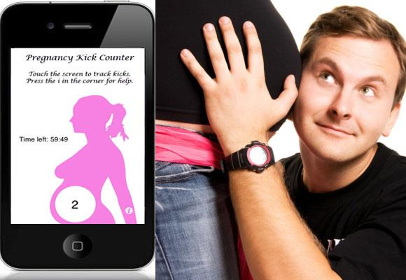 Better than dad guessing, this iPhone app is designed for women who are 25 weeks into their pregnancy or later and its easy touch-screen tracker keeps everyone reassured that bub is active and growing and progressing ok.