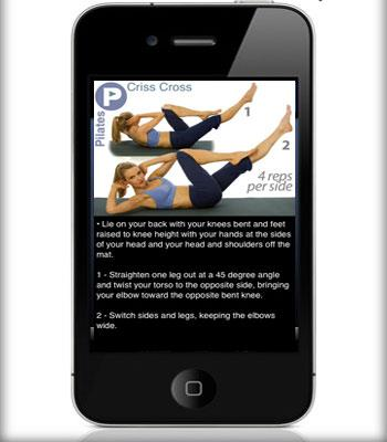 """To help strengthen all those core muscles that have had a pretty rough time of it during labor, try this [pilates app](http://itunes.apple.com/us/app/ipump-pilates/id292835472?mt=8/