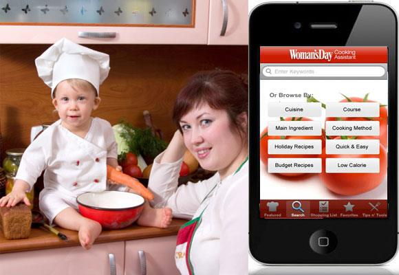 """Save a trip to the internet or searching through cook books, this handy app includes loved, tried and tested recipes. There are also nutrition facts helpful when you are trying to find healthy recipes or if you are trying to lose that baby weight.   But probably more importantly right now you can select recipes that can be prepared within a certain time with the cooking time calculator.  [Cooking Assistant](http://appsmenow.com/app_page/6373-Womans_Day_Cooking_Assistant/