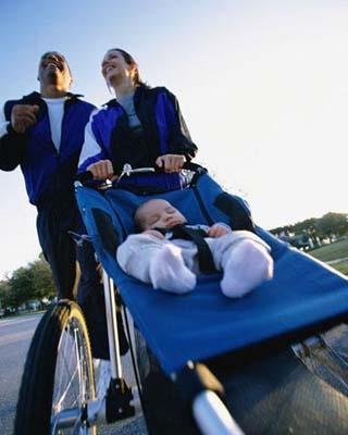 Exercise is the best known, scientifically proven way to significantly reduce stress. Pop your baby in the pram and start eacgh day with a long walk. The fresh air and exercise will make you both feel great.