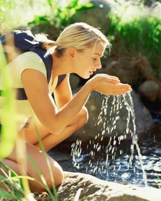 Try to spend some time every day near a beach, river or lake. The calming sounds of water are very soothing.