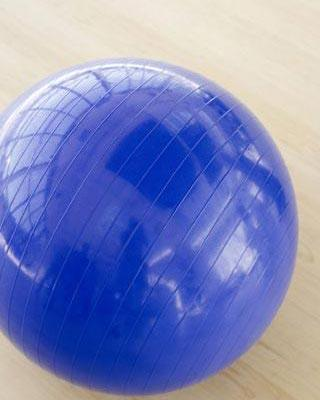 Again using the force of gravity, gently bounce on an exercise ball. This will also help prepare and strengthen your legs in preparation to child birth if you plan to use a birth ball.