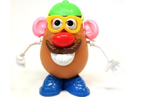 **Mr Potato Head**: Mr Potato Head was born in 1949 and was originally a set of facial parts with prongs that kids could stick into actual potatoes. The modern version includes a plastic potato, but the fun and fascination remains.