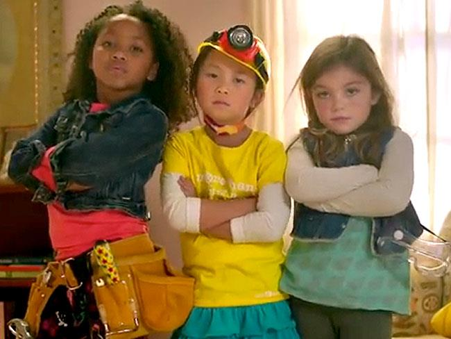Girls' construction toys ad goes viral