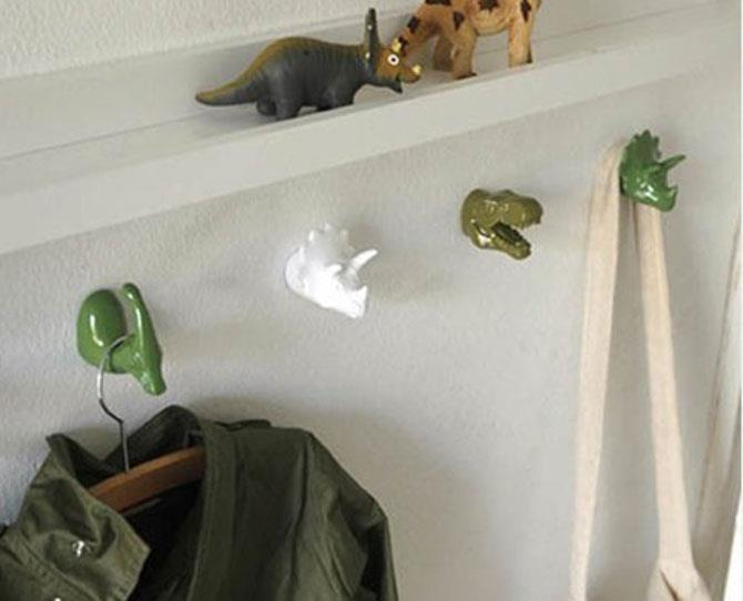UNDER $25  The Zoo Mr Rex Wall Hook, $19.95, from childrensdept.com.au is made of super-sturdy polystone and metal and makes a fun, colourful addition to any childs room.