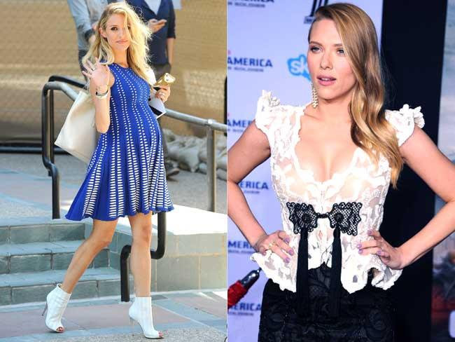 Hollywood's best-dressed bumps