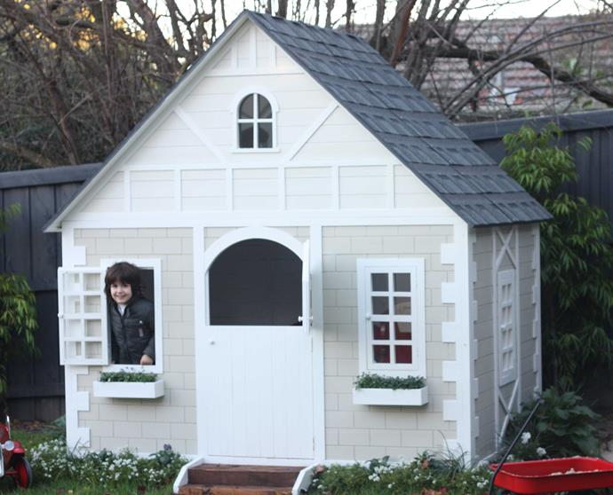 """This adorable Alice Tudor Style Cubby house from [Hip Kids](http://www.hipkids.com.au/