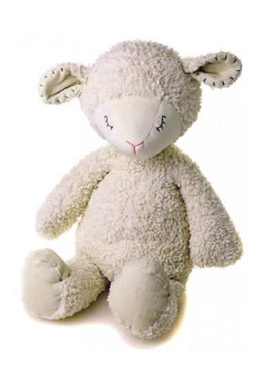 Barley the Lamb is part of the Charlie Bears Baby Organics range, which are all ethically handmade in Sri Lanka. They are safe for babies right from birth, machine washable and made from certified organic cotton and recycled PET bottles.  $39.95 from Honey Bee Toys