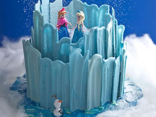 Create the cake from Frozen!