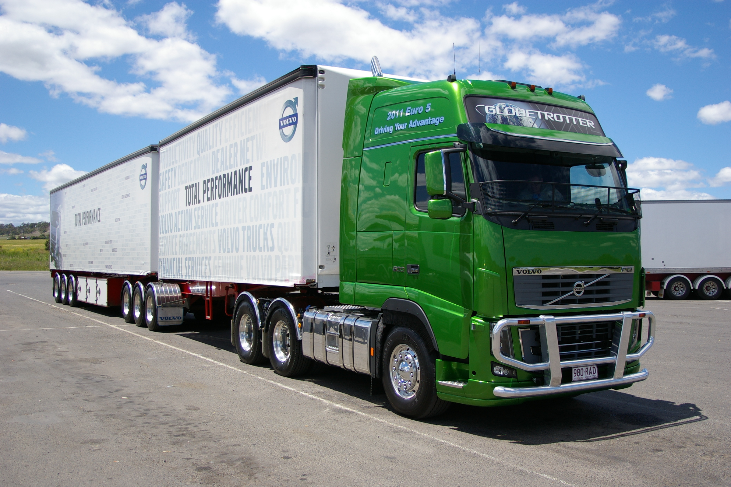 highest going on sell volvo all first bidder is news trucks proceeds motor up with sale puts ebay fh commercial for to charity the new