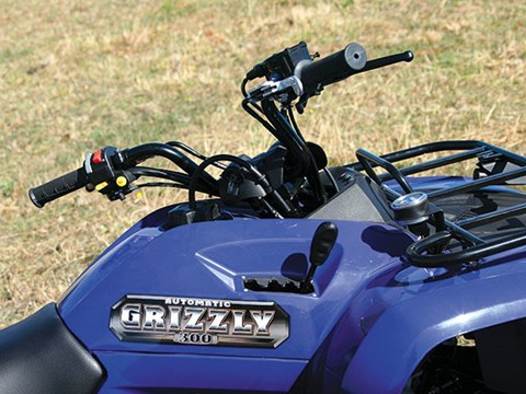 Yamaha YFM300A Grizzly ATV review