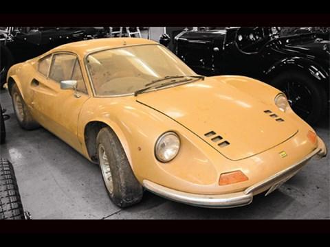 Barn Find 1973 Ferrari Dino 246gt