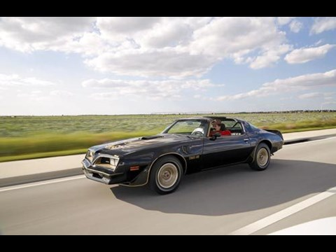 1978 Pontiac Trans Am Smokey The Bandit