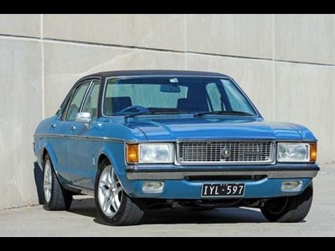 1976 Ford Granada Ghia Past Blast