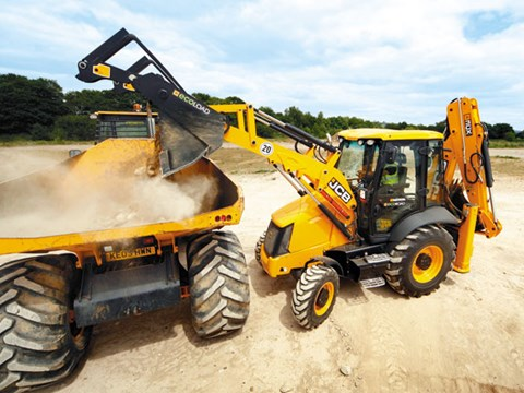 "JCB 3CX ""Eco"" backhoe"