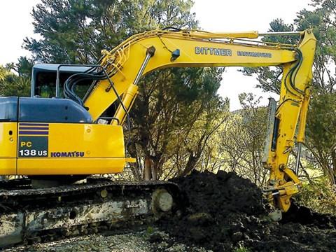 Komatsu PC138US-2 excavator