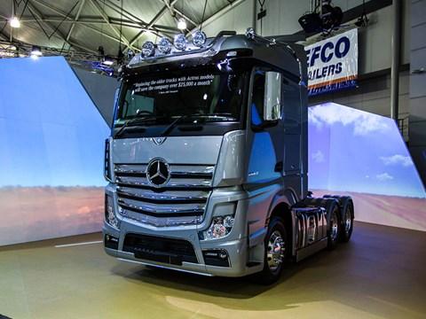 Benz Actros celebrates Truck Show honour | News