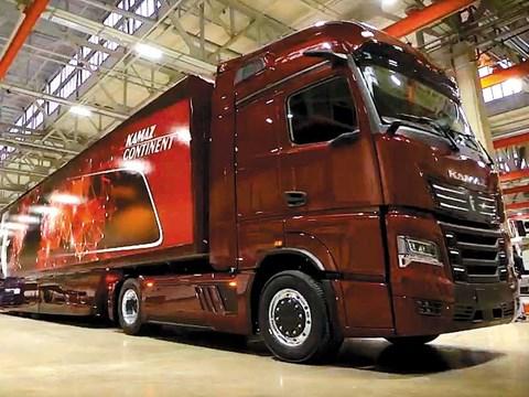 Kamaz unveils new Kamaz-54901 Continent haulage truck