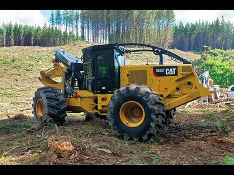 New Caterpillar 555 D-Series skidder