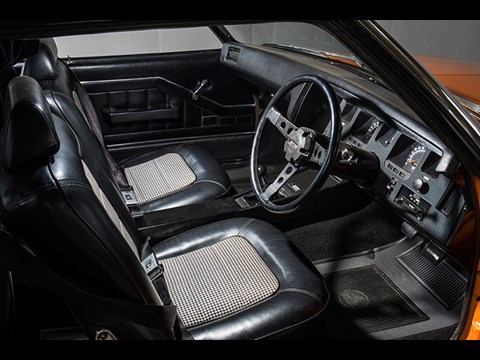 holden hq monaro interior