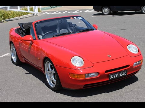 1992 Porsche 968 Reader Ride
