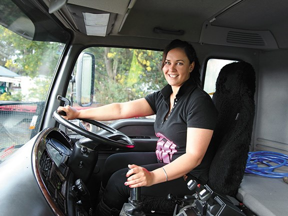 Women in trucking: Amy Edmonds