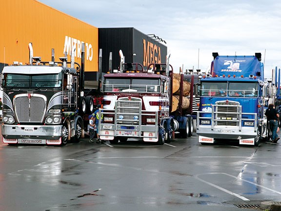 Hawkes Bay truck show
