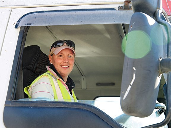 Women in trucking: Jonelle Gray