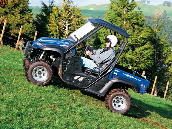 2008 Yamaha Rhino ATV, action.jpg