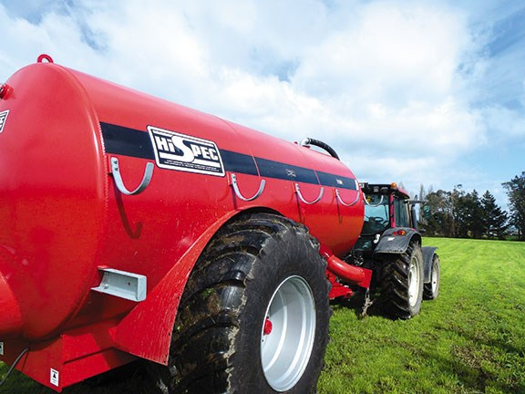 Hi Spec slurry tanker 2500