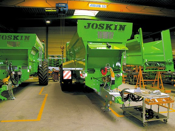 Joskin factory tour in Belgium