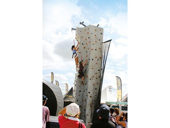 Northland Field Days Rock climbers