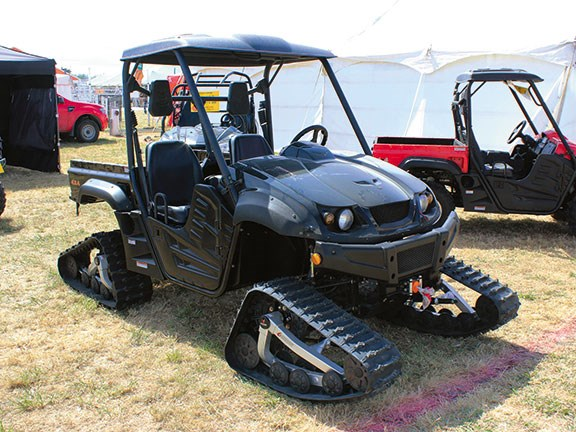 Northland Field Days HISUN tracked side-by-side