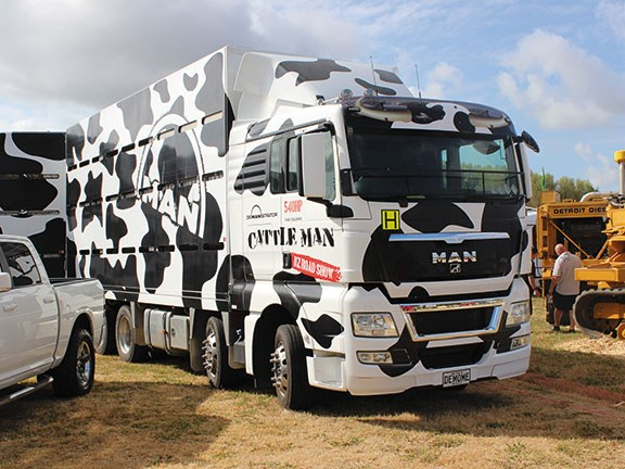 Northland Field Days MAN truck