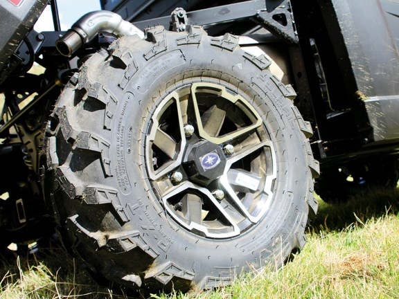 Wheel base of polaris ranger xp 900 UTV