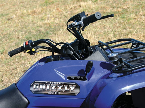Yamaha YFM300A Grizzly ATV